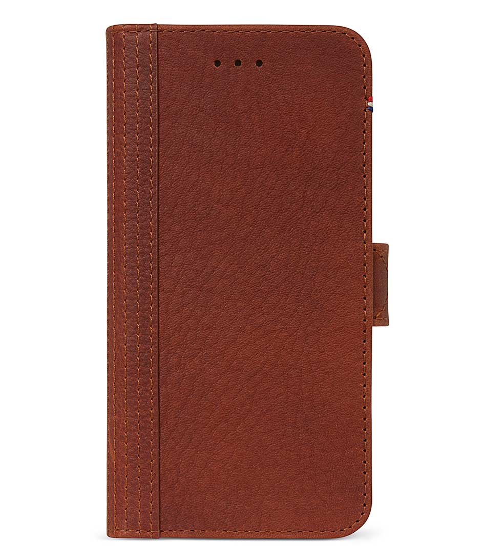 DecodedSmartphone coversiPhone 67 Leather 2in1 Wallet Case Removable BaBrown