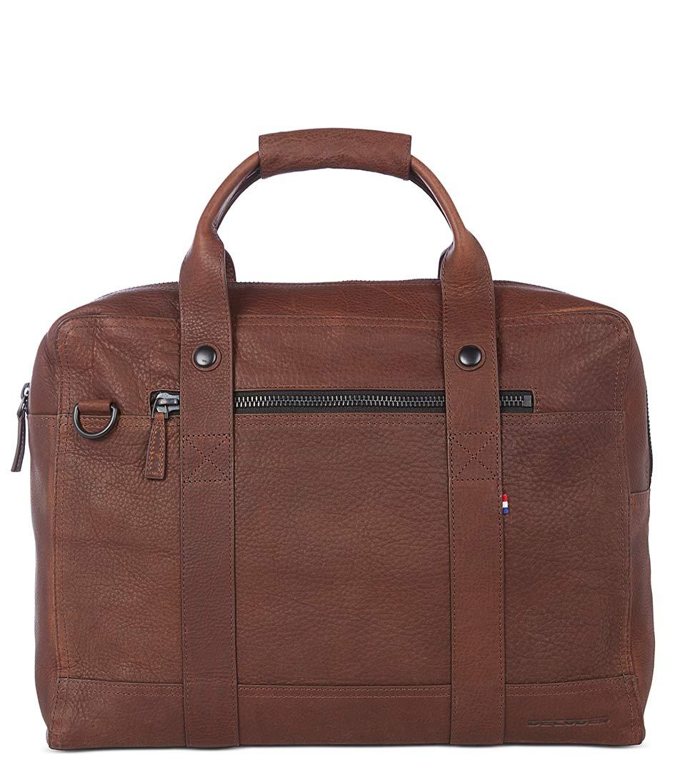DecodedLaptop bagsLeather Bag 15 inchBrown