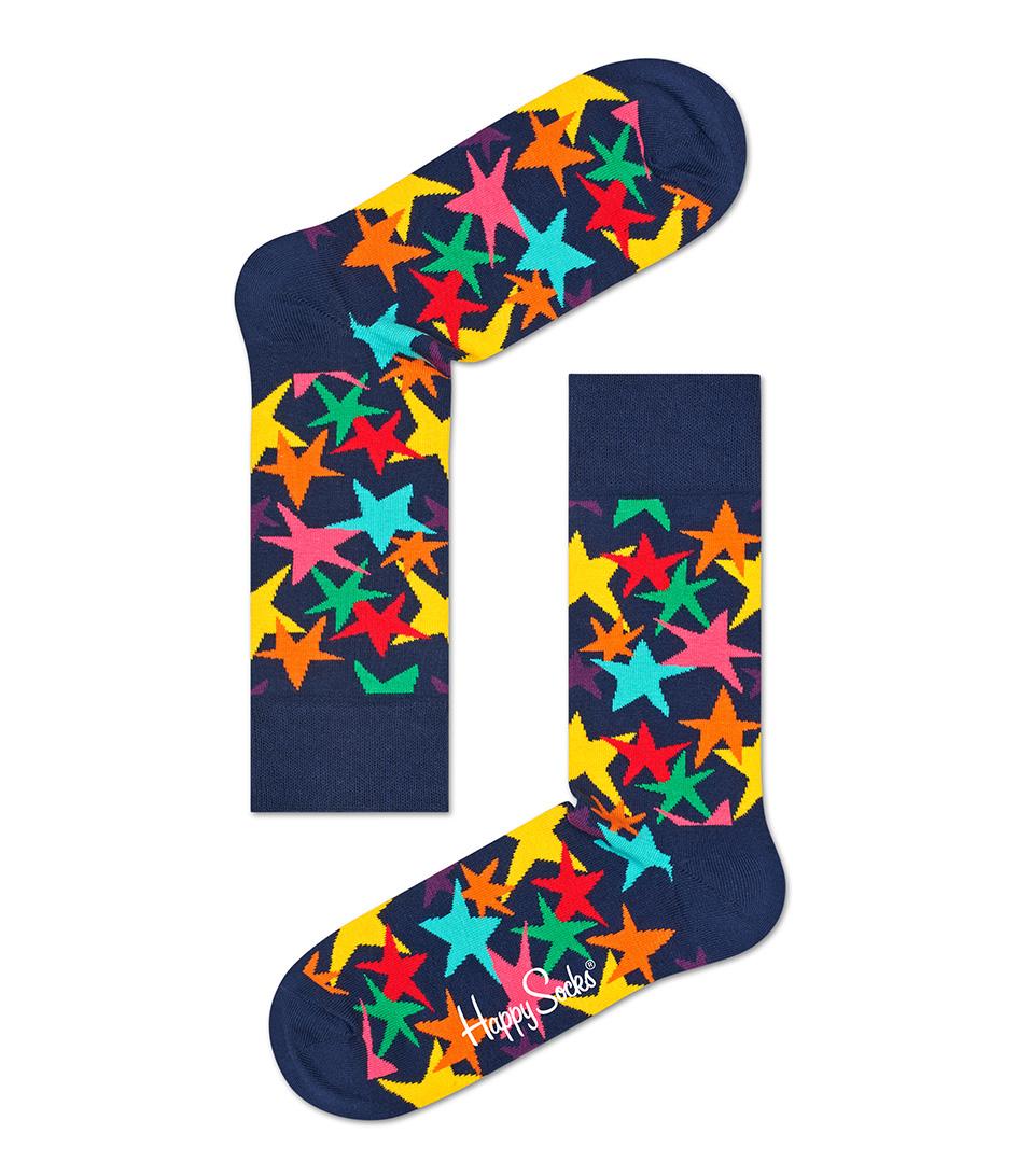 Happy SocksSocksSocks StarsBlue