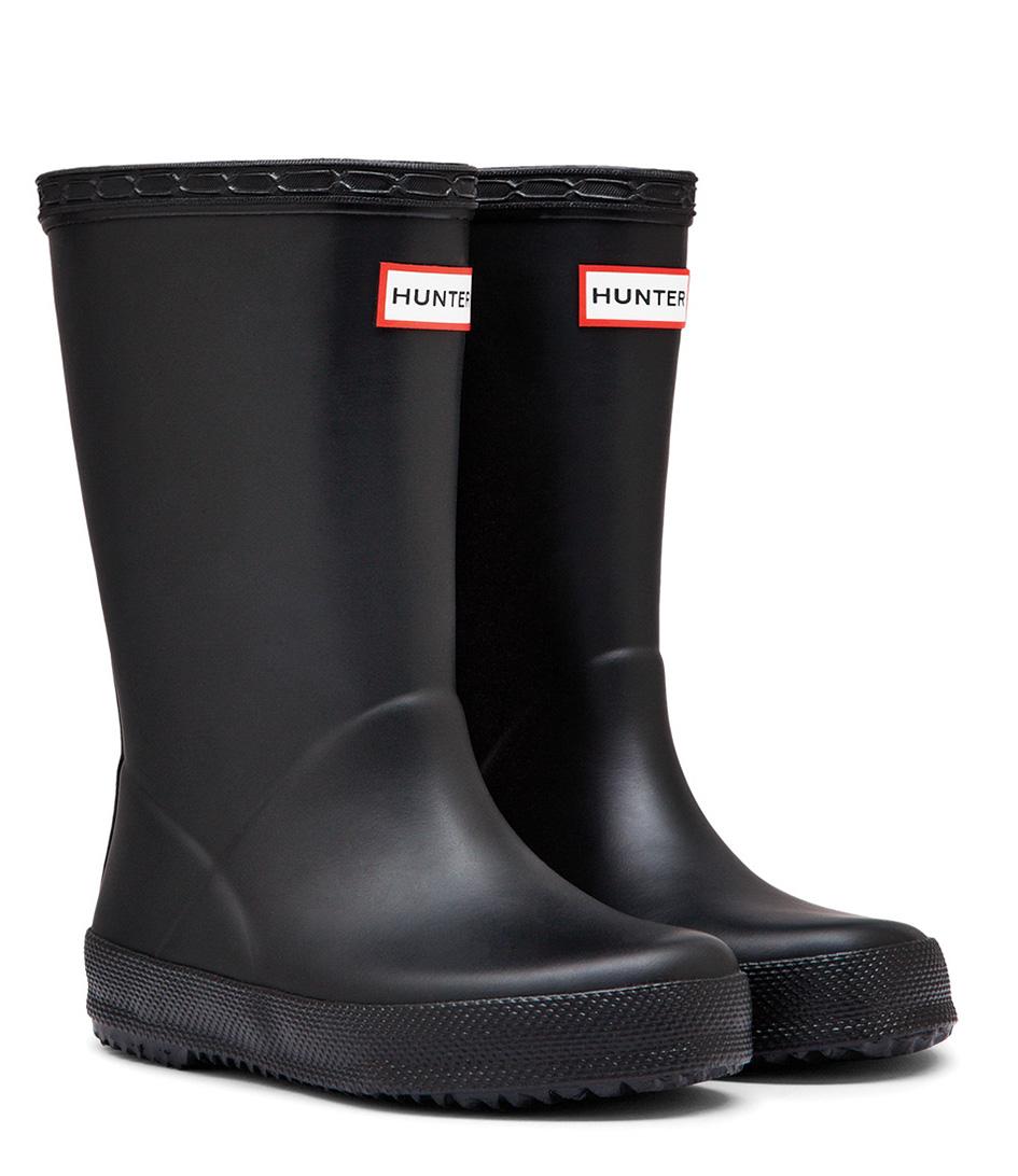 HunterRain bootsBoots Kids First ClassicBlack