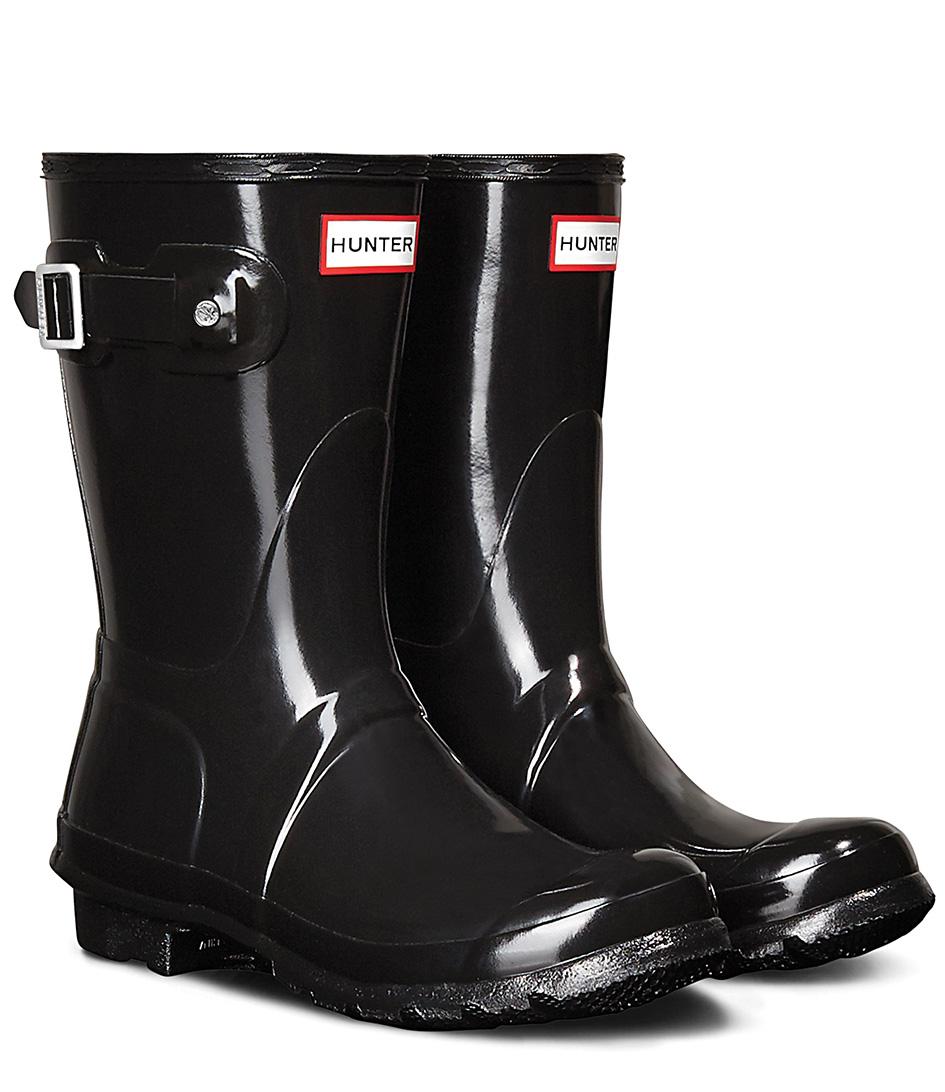 HunterRain bootsBoots Original Short GlossBlack