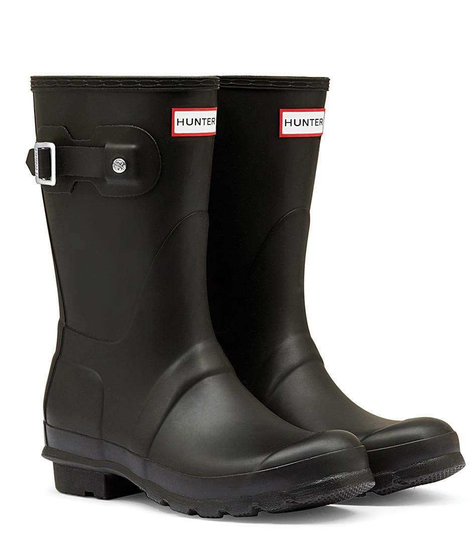 HunterRain bootsBoots Original ShortBlack