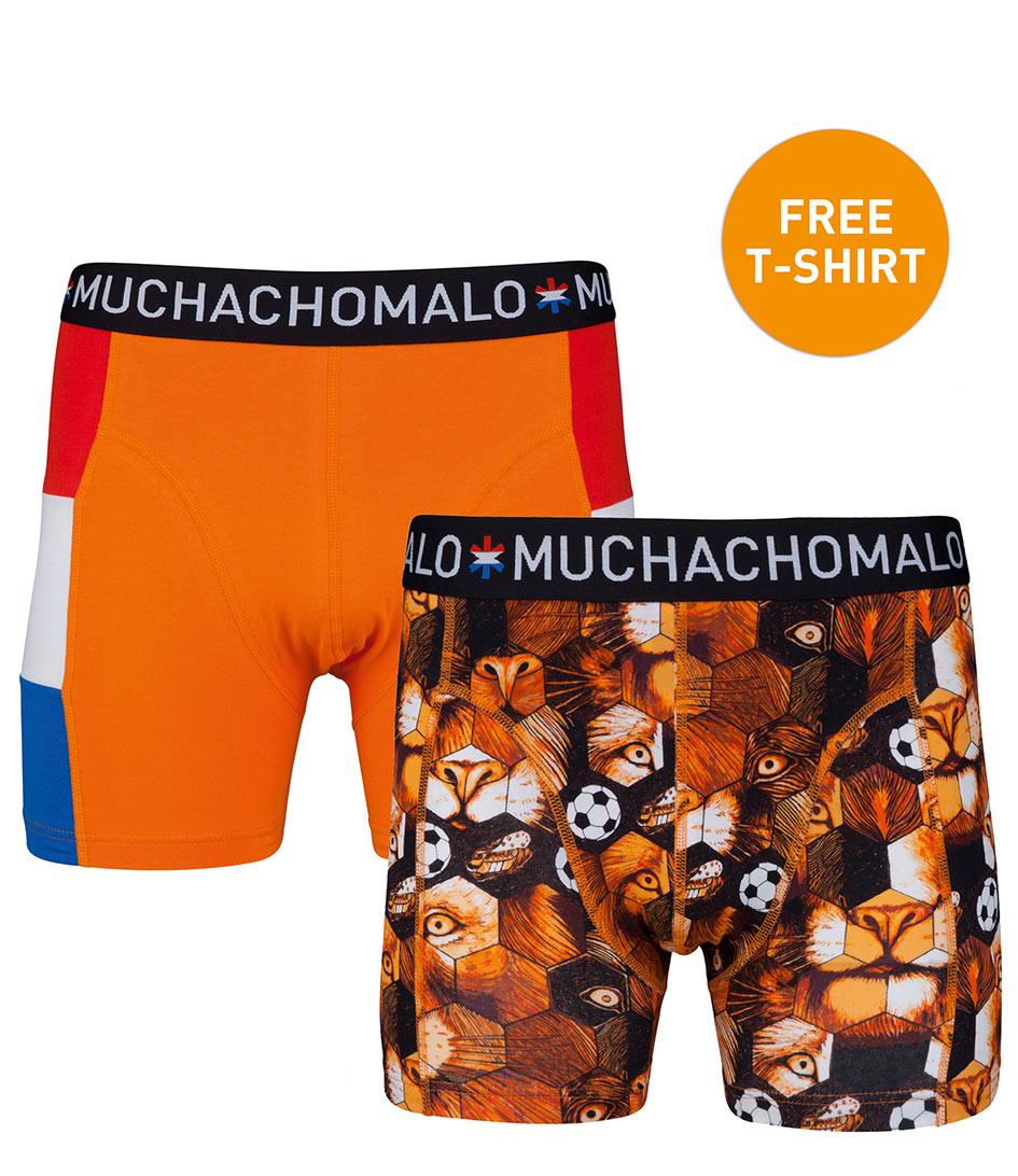 MuchachomaloBoxershorts2Pack Boxershorts OrangeOrange