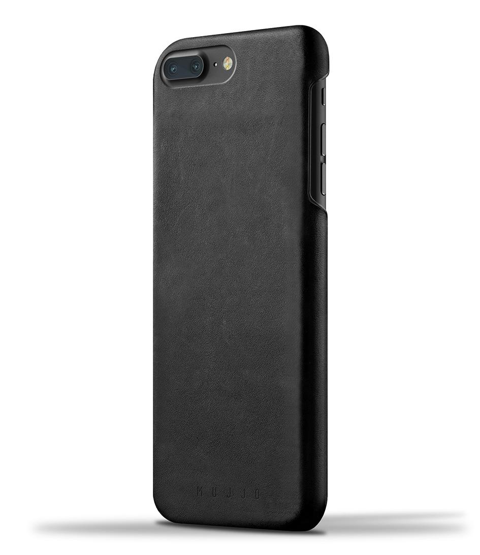 MujjoSmartphone coversLeather Case iPhone 7 PlusBlack