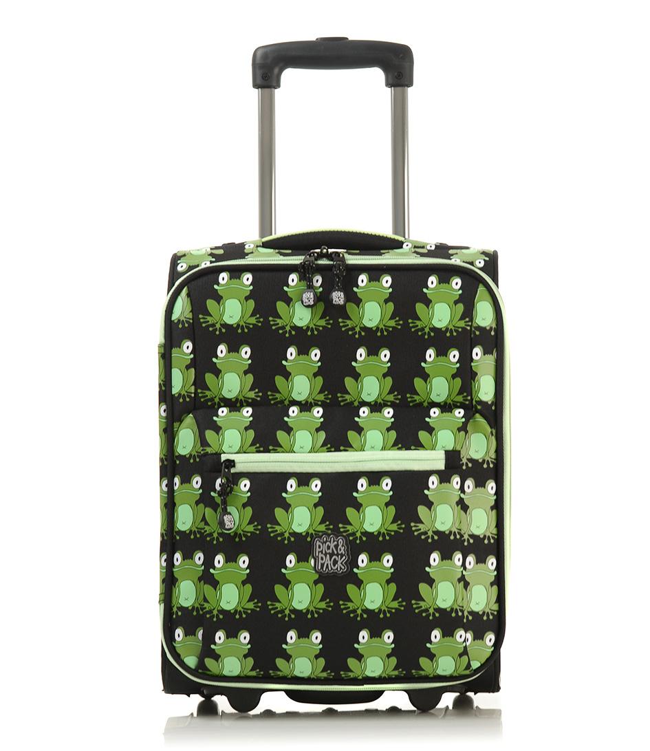 Pick & PackSuitcasesFrog TrolleyBlack