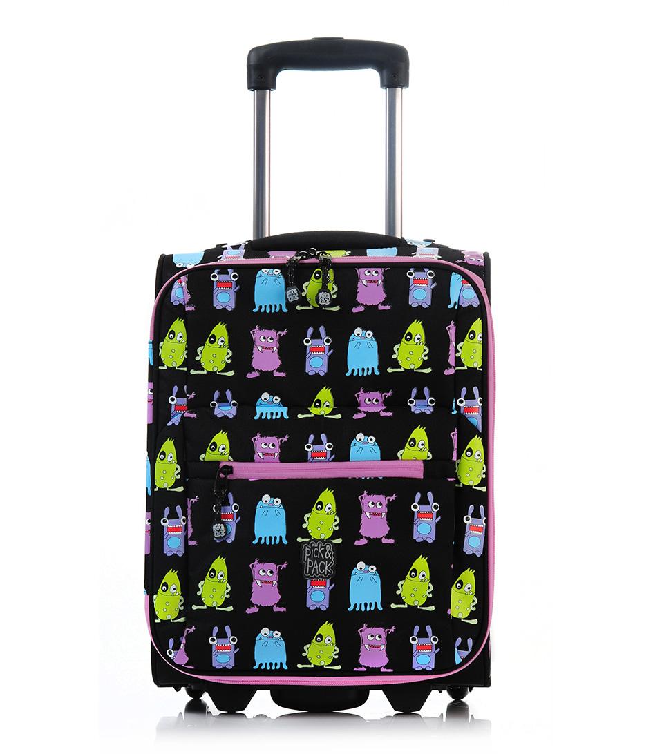 Pick & PackSuitcasesMonster TrolleyBlack