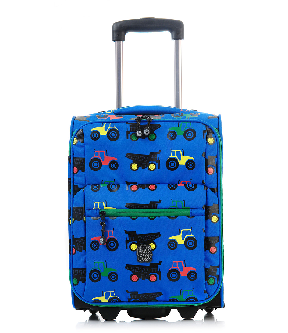 Pick & PackSuitcasesTractor TrolleyBlue