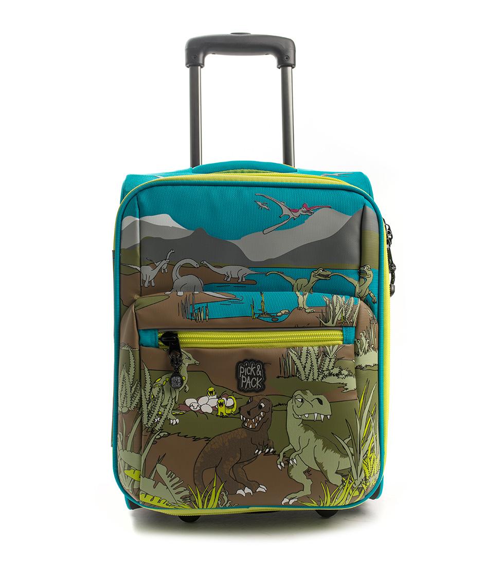 Pick & PackSuitcasesDino TrolleyBlue