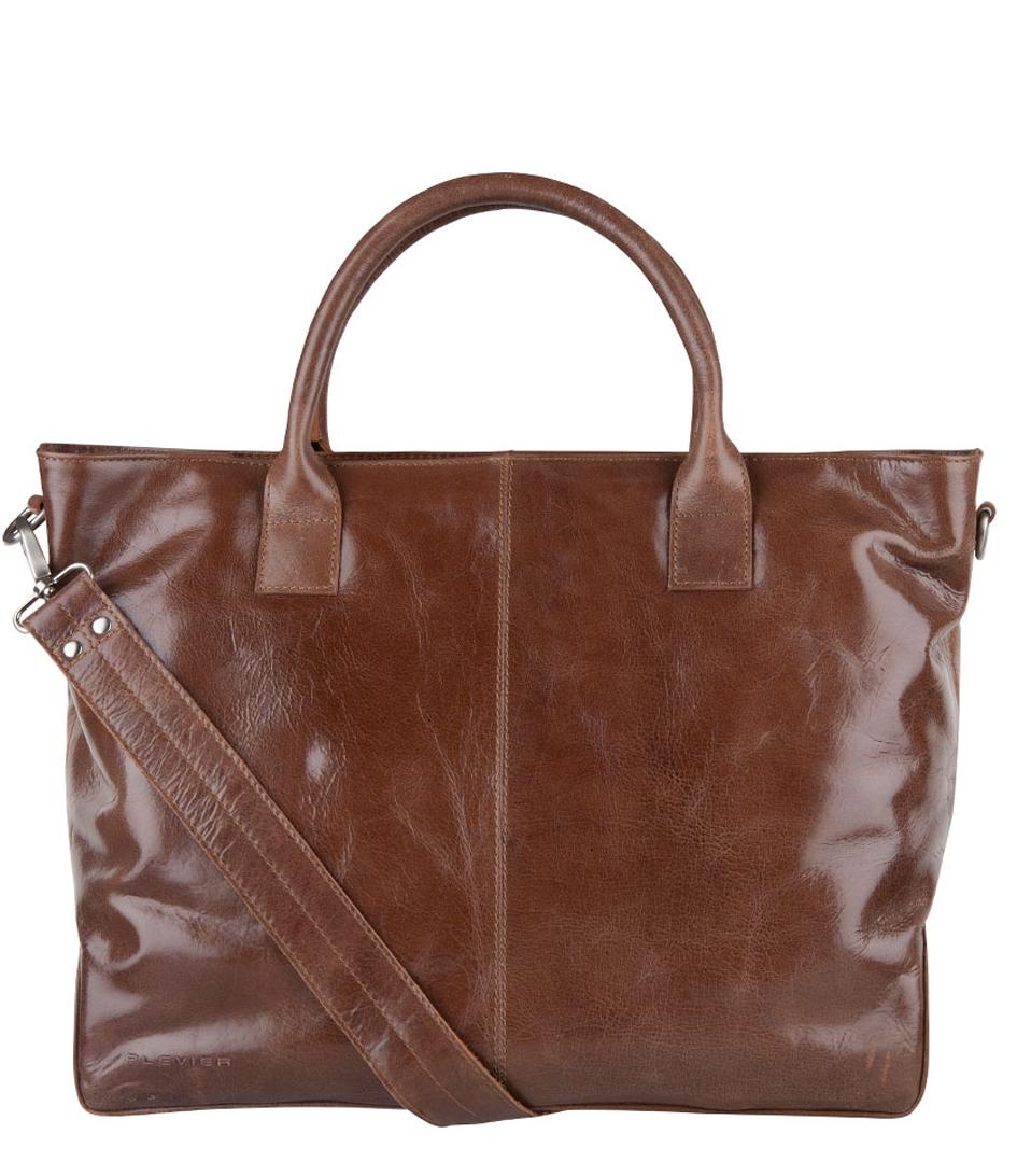 PlevierLaptop bagsTwo Compartment Ladies Laptop Bag 721Brown