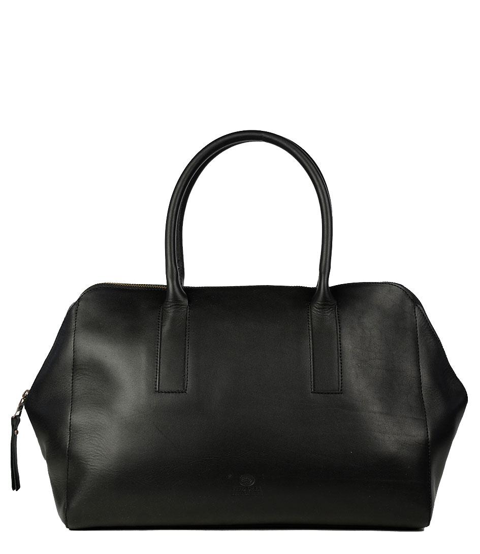 Fred de la BretoniereHandbagsHandbag Medium Tanned LeatherBlack